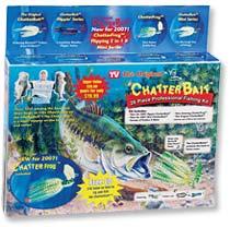 26 Piece Chatterbait Kit