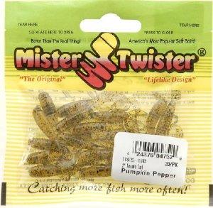 Mister Twister Teenie Pumpkin Pepper
